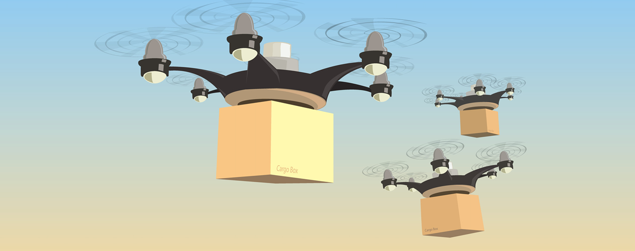 Drone delivery shipping 1260